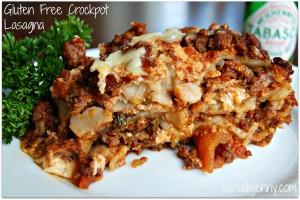 Gluten Free Crockpot Lasagna - Canada Jenny Gluten Free