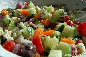 Gluten Free Greek Salad - Canada Jenny