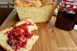 Gluten Free Soft White Bread - Canada Jenny